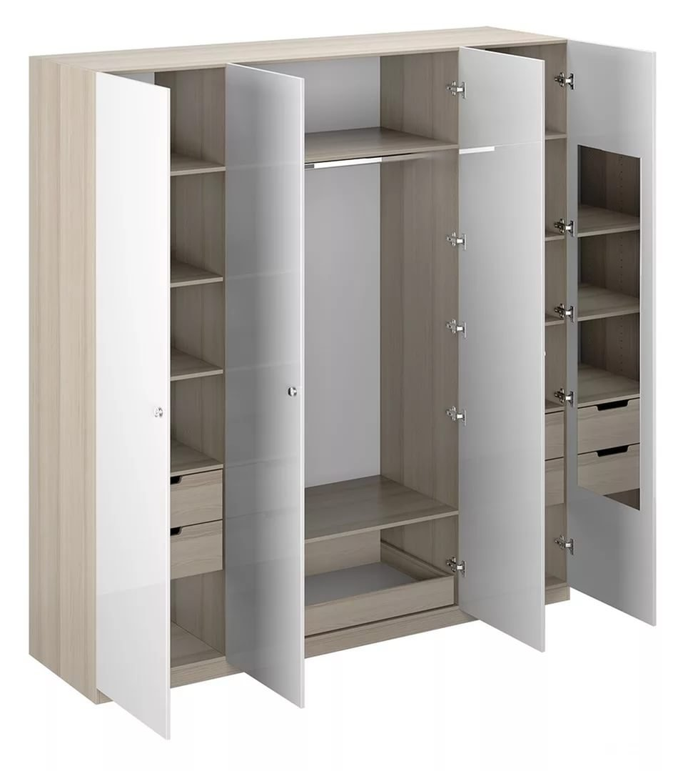 Шкаф распашной 4 х створчатый - четырех