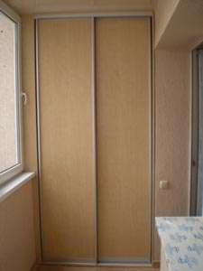 Шкафы купе на балкон