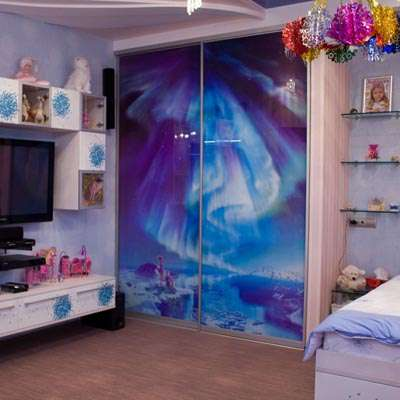 Шкаф купе в детскую комнату