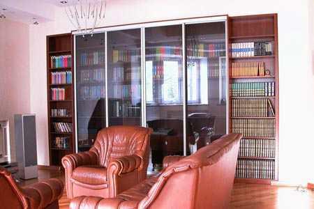 Книжные шкафы - библиотеки