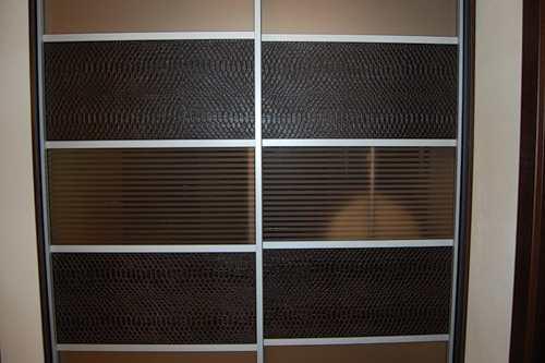 Фасады для встроенных шкафов