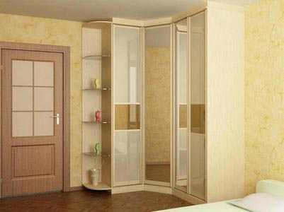 Шкафы купе в спальню