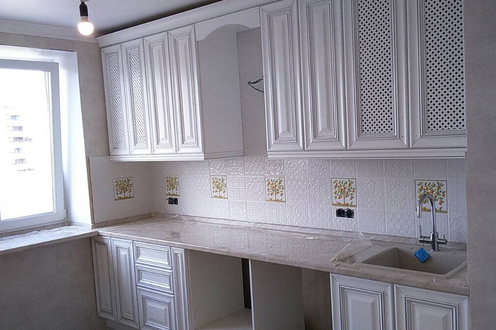 s кухни готовые