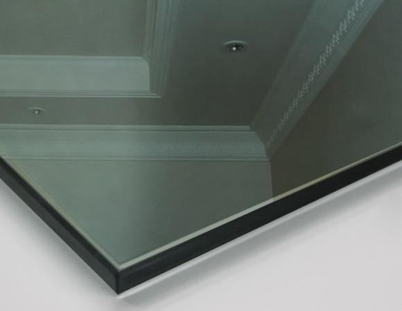 Угловой шкаф с зеркалом