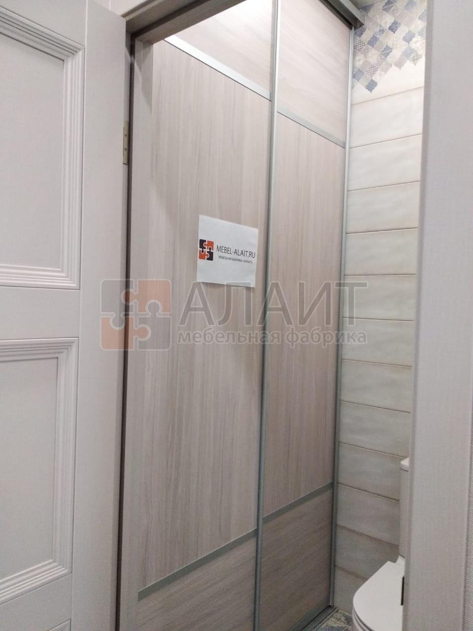 шкаф-купе двухдверный в ванную