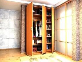 Распашные шкафы эконом класса